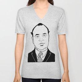 Al 'Scarface' Capone Unisex V-Neck
