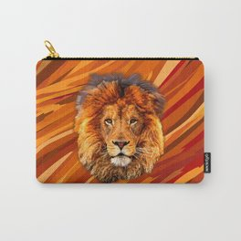Old Lion Carry-All Pouch