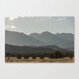 Rocky Mountain Haze Canvas Print