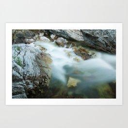 Cameron Creek, Waterton National Park Art Print