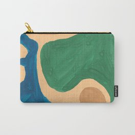 16 | Imperfection | 190325 Abstract Shapes Carry-All Pouch