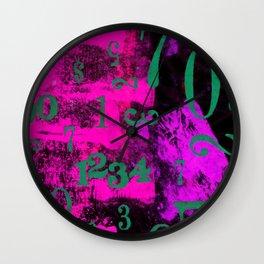 Midnight Tally Wall Clock