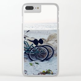Captiva Island Bikes by Ocean Clear iPhone Case