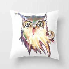 Hibou Throw Pillow