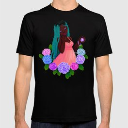 Turquoise Twists T-shirt
