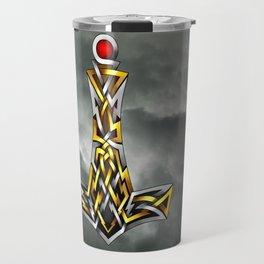 Thor's Hammer Mjolnir Travel Mug