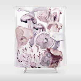 Mushroom Medley Shower Curtain