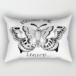 Like Moths to Flames Rectangular Pillow