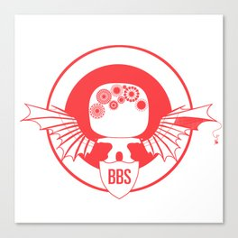 BBS v. SSR (Capt America version) Canvas Print