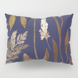 Fall Foliage on Navy Pillow Sham