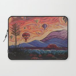 The Balloony Sunrise Laptop Sleeve