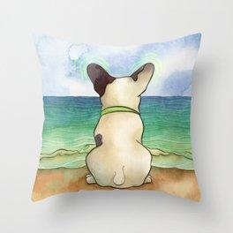 Bubba Vibes Throw Pillow