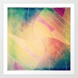 Color Square #1 Art Print