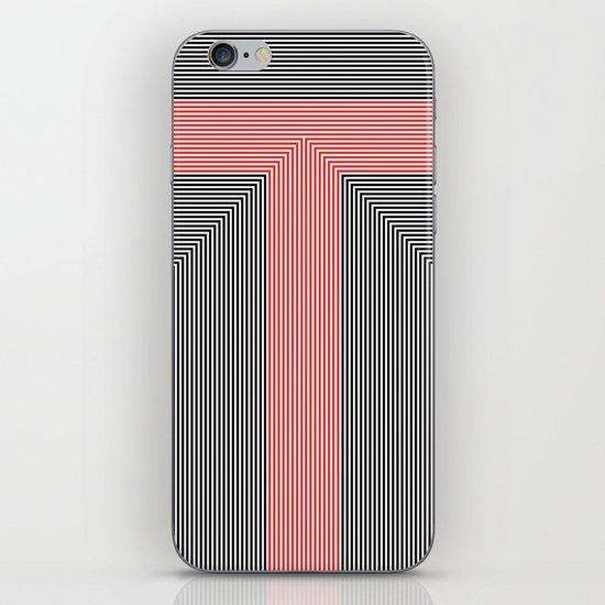 T like T iPhone & iPod Skin