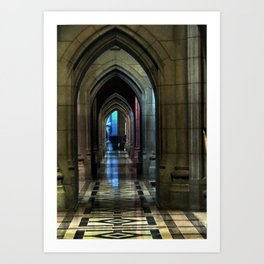 Washington National Cathedral, D.C. Art Print