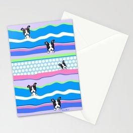 KiniArt Boston Puppies Stationery Cards