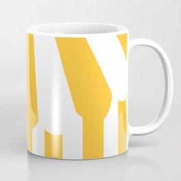 yellow tent Coffee Mug
