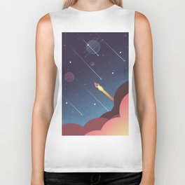 Out there  Biker Tank