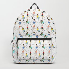 Girls Pattern Backpack