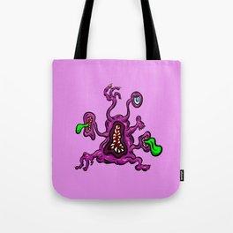 Alien Wiggle Monster - Toes Tote Bag