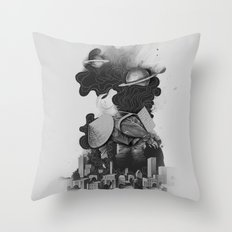 The Night Gatherer Throw Pillow