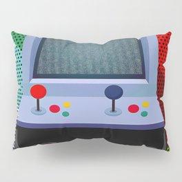 Retro Arcade Joystick Video Game Pillow Sham