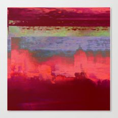 14-42-41 (City Glitch) Canvas Print