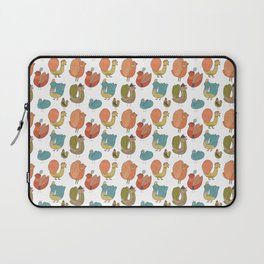 Pattern Projects #7 / Bird Parade Laptop Sleeve