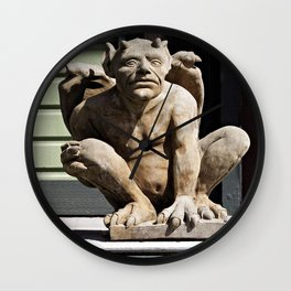 Porch Guardian Wall Clock