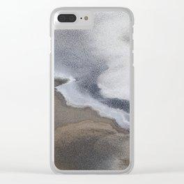 Death Valley Salt Flats Clear iPhone Case