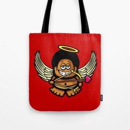Funky Cupid Tote Bag