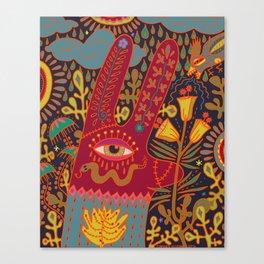 Cyclops Rabbit Canvas Print