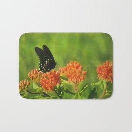 Asclepias tuberosa  (Butterfly Weed) Bath Mat