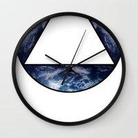 logo Wall Clocks featuring LOGO by prysm