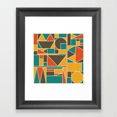 Kaku Retro Framed Art Print
