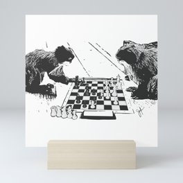 Emperor's game Mini Art Print