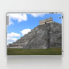 Chichen Itza Temple of Kukulcan south-west View Laptop & iPad Skin