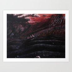 The Black Desert.... Art Print