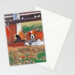 Quinn the Cavalier King Charles Stationery Cards