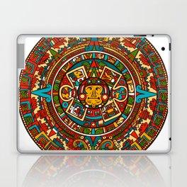 Aztec Mythology Calendar Laptop & iPad Skin