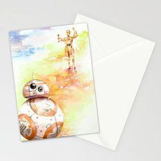 BB8 & C3PO Stationery Cards
