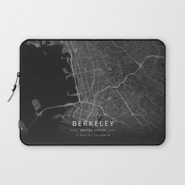 Berkeley, United States - Dark Laptop Sleeve