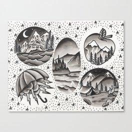 PNW Scenes Canvas Print