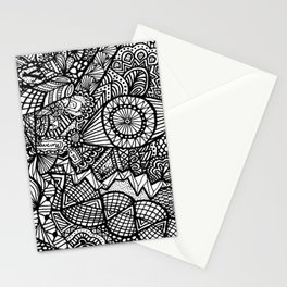 Doodle 5 Stationery Cards