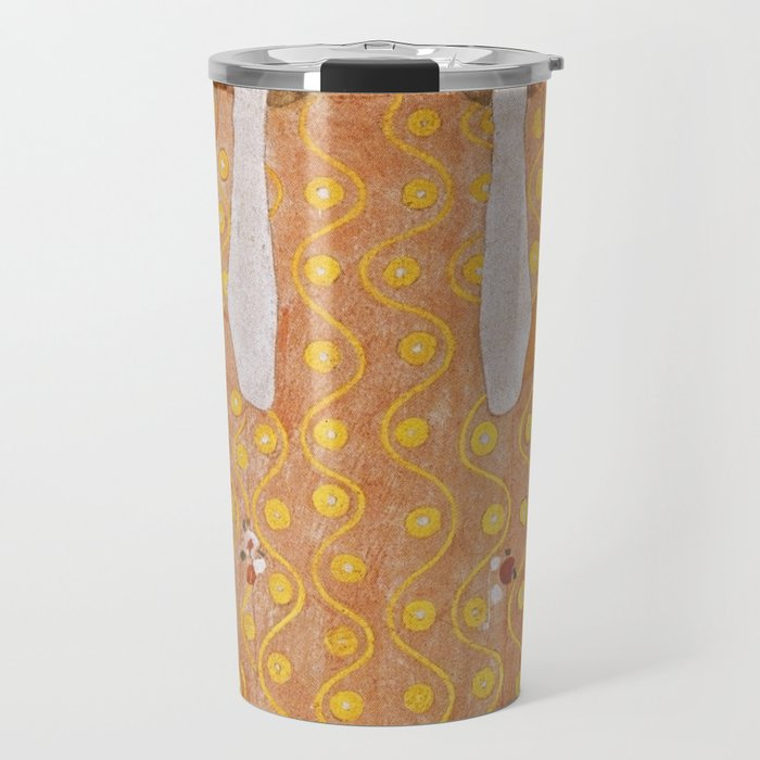 Beethoven Frieze by Gustav Klimt Travel Mug