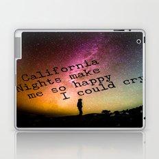 California Nights Laptop & iPad Skin