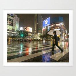 Shibuya Crossing Japan Art Print