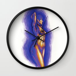 Lady Oahu Wall Clock