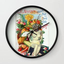 Une Belle Plante Wall Clock
