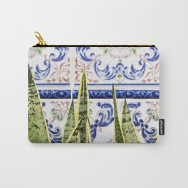 Moroccan Botany #society6 #decor #buyart Carry-All Pouch